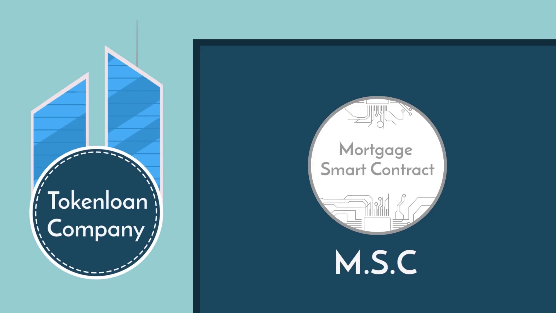 Mortgage smart contract